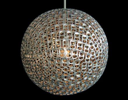 Pull-tab lamp