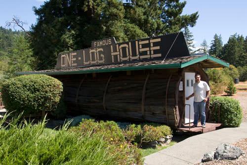 One log house Home Improvement Wood & Organic