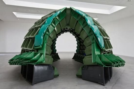 Carapace Interactive, Happening & Street Art Recycled Art Recycled Plastic