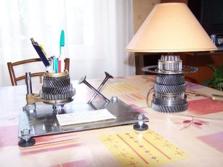 Desk accessory creations