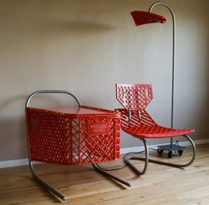 Recycled shopping cart