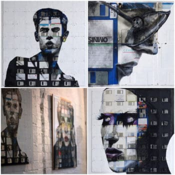 Nick Gentry : floppy's disks art