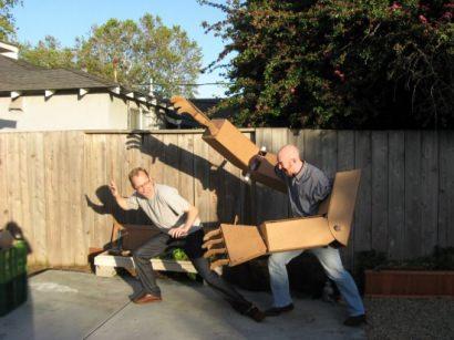 DIY ? : giant robot arms