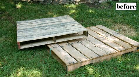 lori danelle DIY : Toddler pallet bed in wood pallets 2 furniture diy  with Wood / organic Pallets Bed