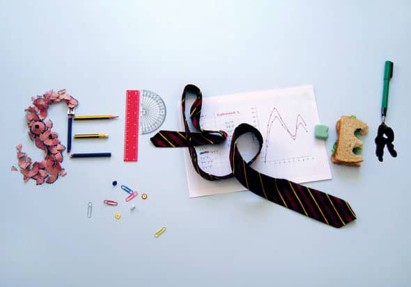 September...back to School ! Recycled Art