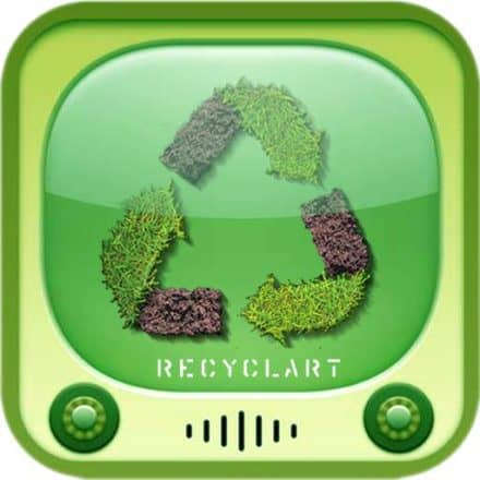 The Recyclart iPhone App available !