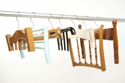 Chair back hangers