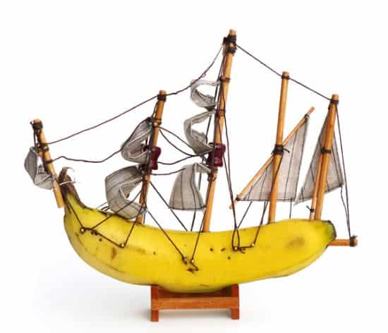 Banana boats Wood & Organic