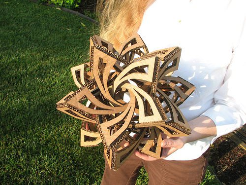DIY : making a Frabjous Do-It-Yourself Ideas Recycled Cardboard