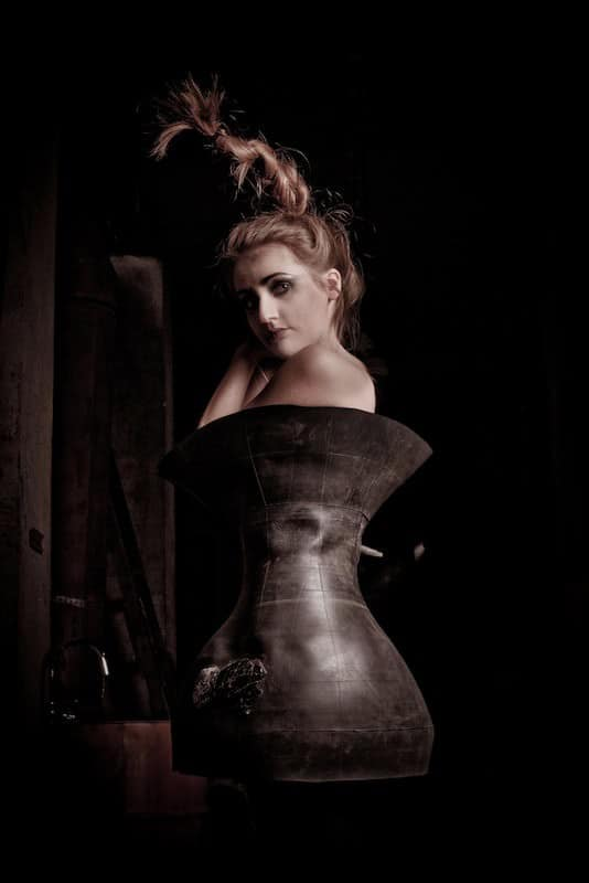 Dress Made From Recycled Truck Inner-tube Accessories Recycled Rubber