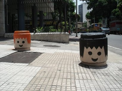 Urban Playmobil heads