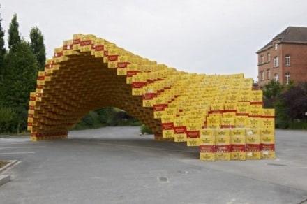 2000 beer crates pavillon