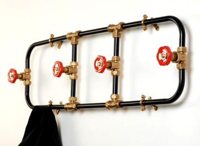 Pipeworks coat racks Accessories Recycling Metal
