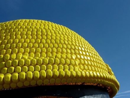 Giant helmet sculpture (2nd Guinness world record)