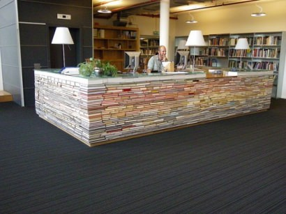 Library information desk
