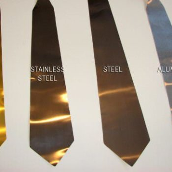 Metal neckties
