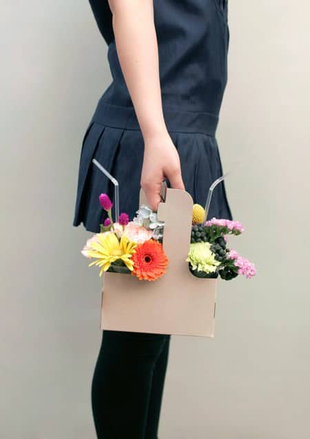 Different Bouquets Recycled Packaging Wood & Organic