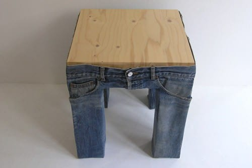 Trousers Stool Clothing Wood & Organic