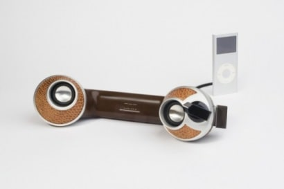 Dreyfus phones –>stereo speakers for MP3 players