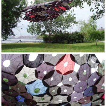 Penumbrella: Canopy Of Recycled Umbrellas