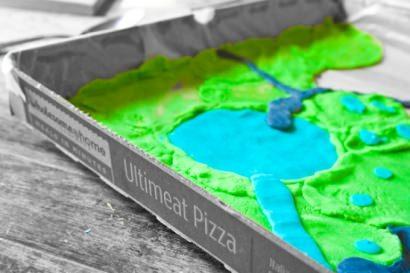 DIY : Pizza box playset