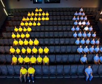 Human pixel : Pacman