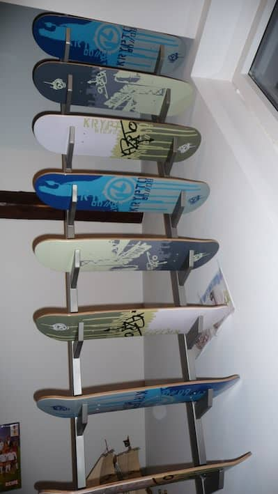Skateboard Deck Stairs Recycled Sports Equipment