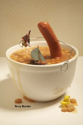 English breakfast (bent objects)