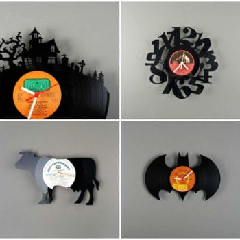 Vinyls Upcycled Into Clocks By Pavel Sidorenko