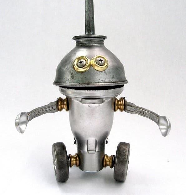 Adopt A Bot Recycled Art Recycling Metal