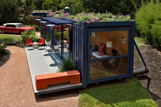 container roof Container guest house