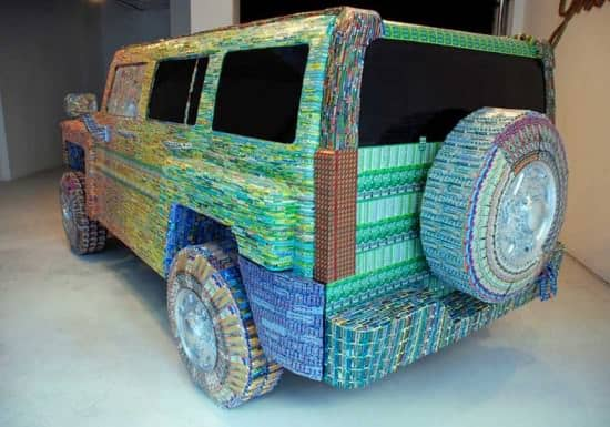 From Lottery Ticket To Sculptures Recycled Art