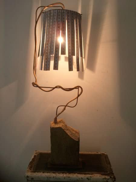 Vintage Meters Into Desk Lamp Lamps & Lights