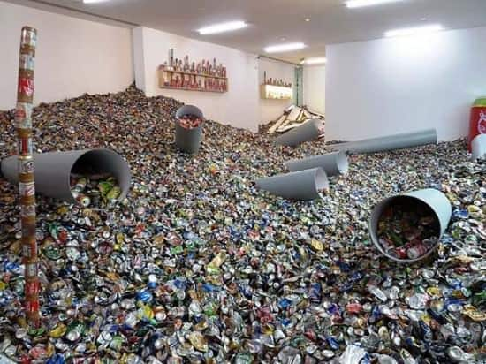 Too Too - Much Much Interactive, Happening & Street Art Recycled Art