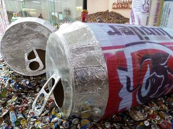 Too Too – Much Much Interactive, Happening & Street Art Recycled Art