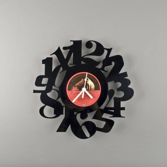 vinyl clock3 Vinyl clocks in vinyl  with Vinyl Clock