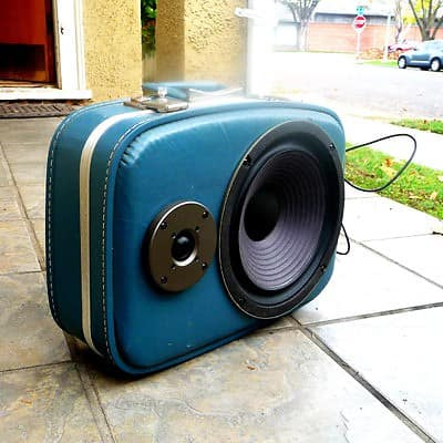 Boom Cases in furniture electronics accessories  with suitcase Speaker case