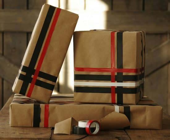gift1 DIY : Gift Wrapping in diy accessories  with Tape Gift Christmas 