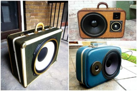 Boom Cases From Upcycled Suitcases