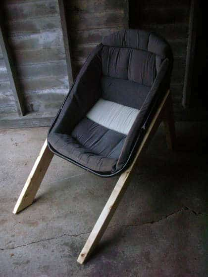Wheelbarrow Chair Recycled Furniture