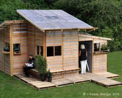 I-BeamDesign pallet house