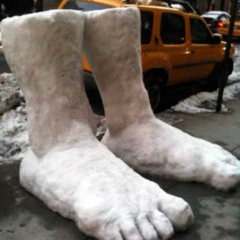 2 feet of snow in NYC