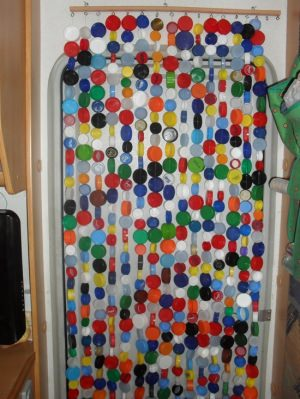 Bottle Stopper curtain