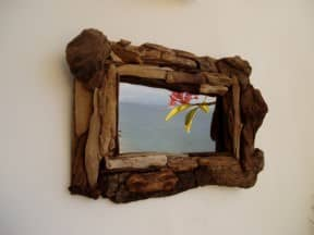 Driftwood mirrors