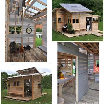 I-Beam Design Pallet House