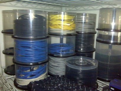 DIY : what to do with empty cd/dvd spindles
