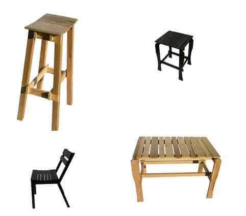 Echo Wood Production Recycled Furniture Wood & Organic
