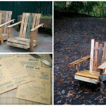 DIY: Pallet Adirondack Chair