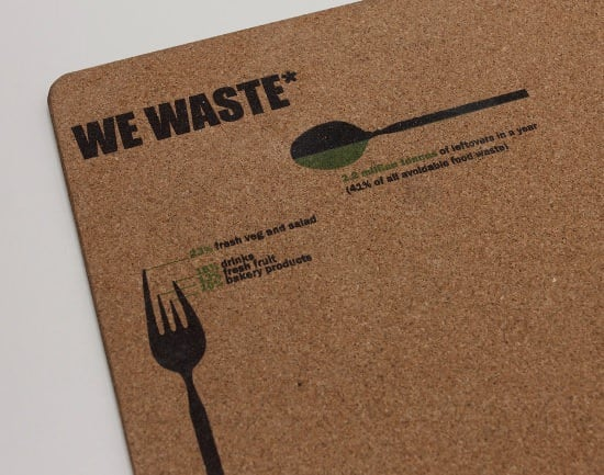 We Waste ! Interactive, Happening & Street Art Recycled Cork