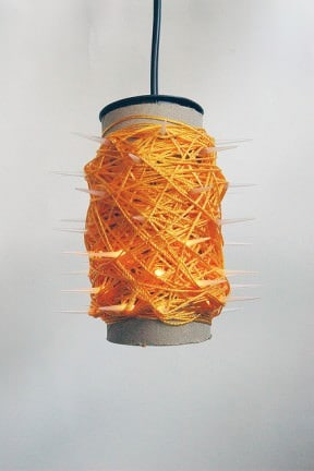 String lamp